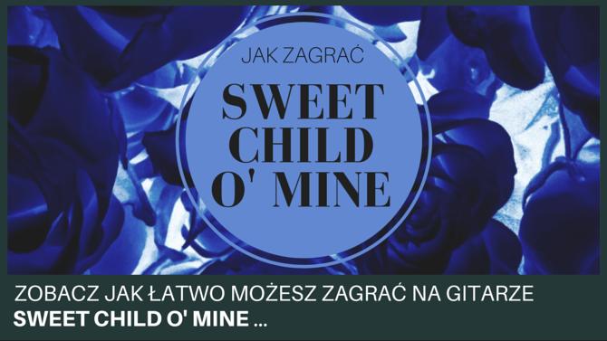 Jak zagrać sweet child o' mine