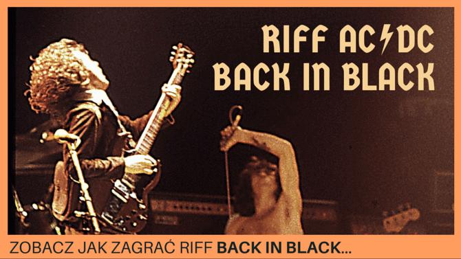 Jak Zagrać Back in Black Riff (AC/DC)
