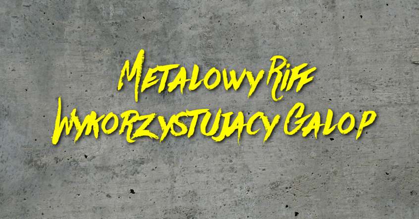 metalowy riff